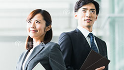 2 Japanese business trainers